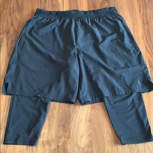 Russell - Dri-Power 360 - Shorts w/ Built-in Liner